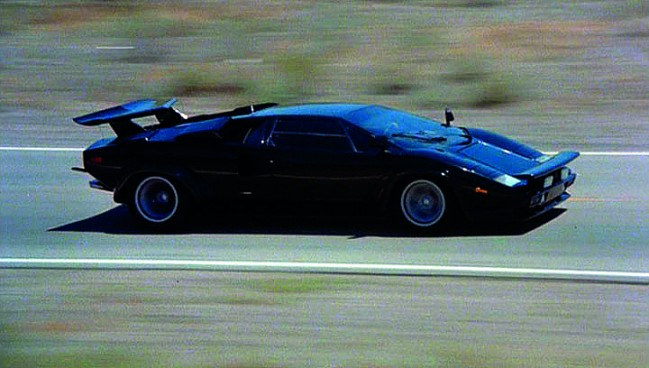 Countach Cannonball run