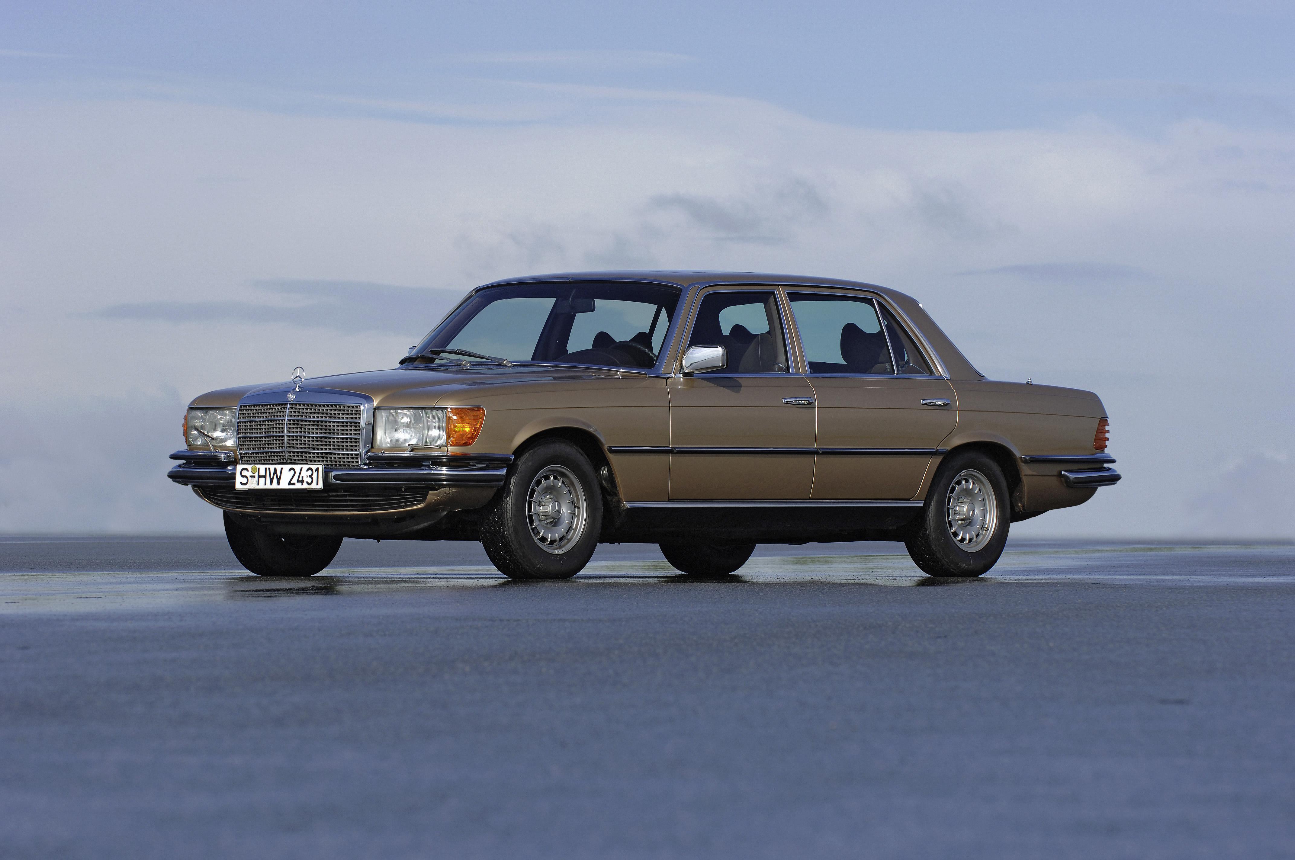 Mercedes S-klasse 40 jaar!